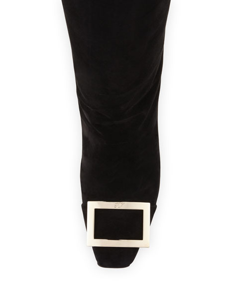 Trompette Suede Knee Boot
