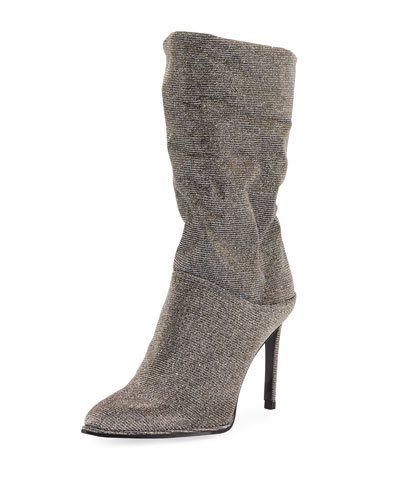 Crush Scrunch Sparkle Bootie