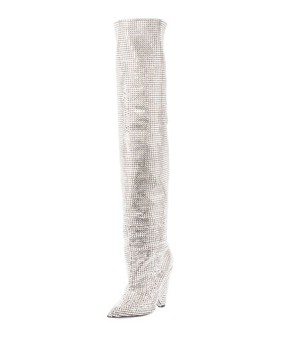 Embellished Over-The-Knee Boot