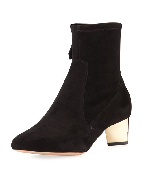 Prism Suede Ankle Boot