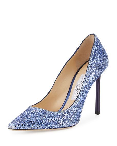 Romy Glittered 100mm Pump