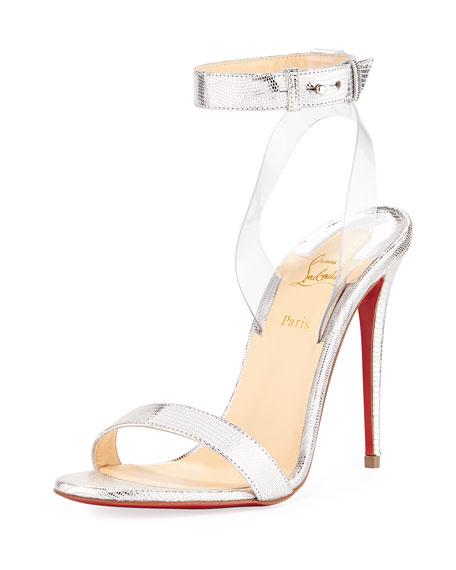 Jonatina Embossed Red Sole Sandal