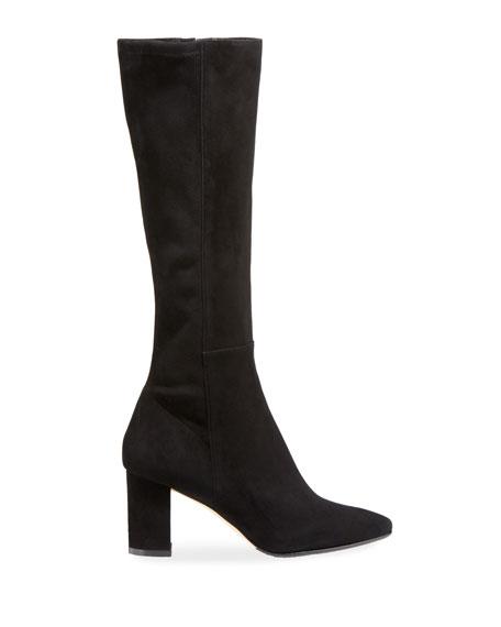 Pampita Suede Knee Boot