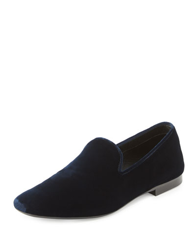 Bray Velvet Smoking Loafer