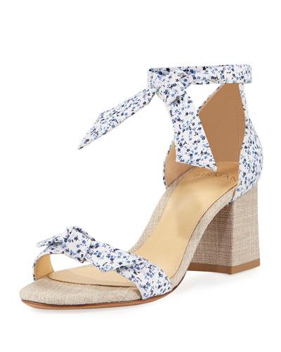 Clarita Printed Fabric 60mm Sandal