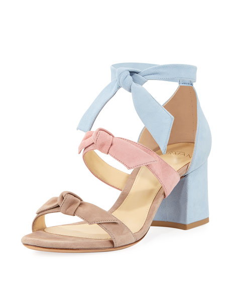 Lolita Suede Block-Heel Sandal