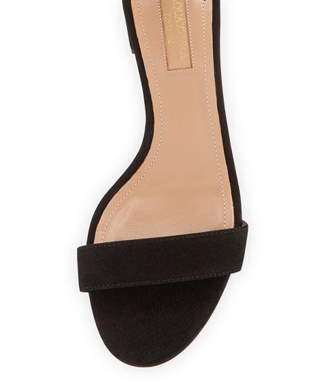 Casa Blanca Suede Ankle-Strap Sandal