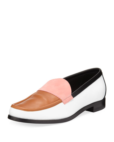 HARDY COLORBLOCK LEATHER LOAFER