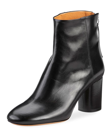 Isabel Marant Ritza Leather Ankle Boots SQlSejfVH