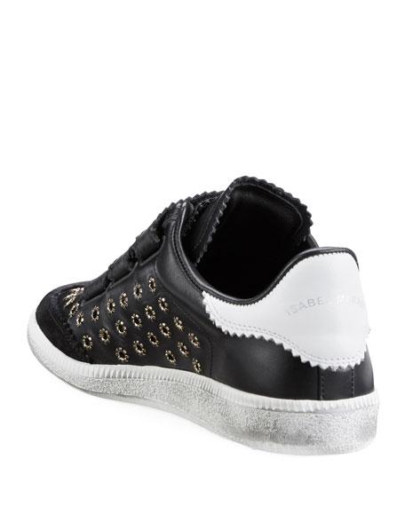 Beth Studded Grip-Strap Sneaker