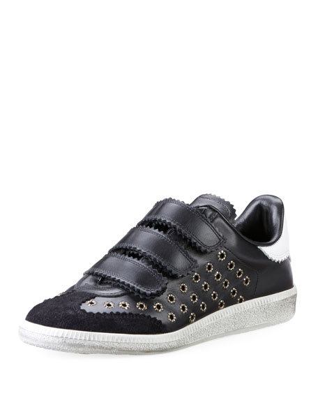 Beth Leather Trainers, Size Fr41, Women, Black