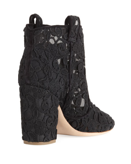 Pete Lace Western Booties