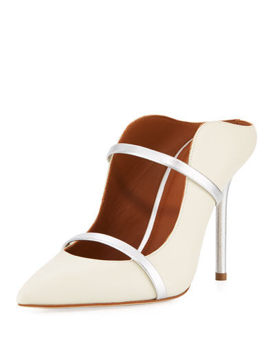Maureen Napa Leather Mule Pump