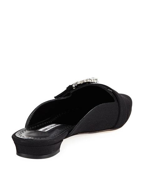 Rubystra Flat Satin Mule Loafer