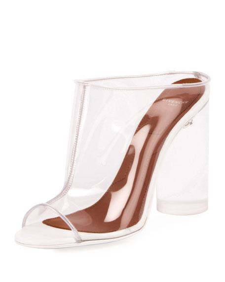 Clear PVC Mule Sandal