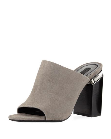 Avery Suede Mule Sandal