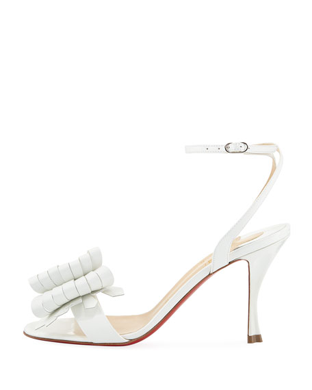 f2a416fdb1d Christian Louboutin Miss Valois 85 Red Sole Sandal