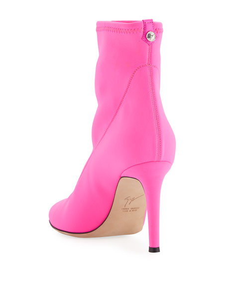 Stretch-Neoprene 90mm Ankle Boot