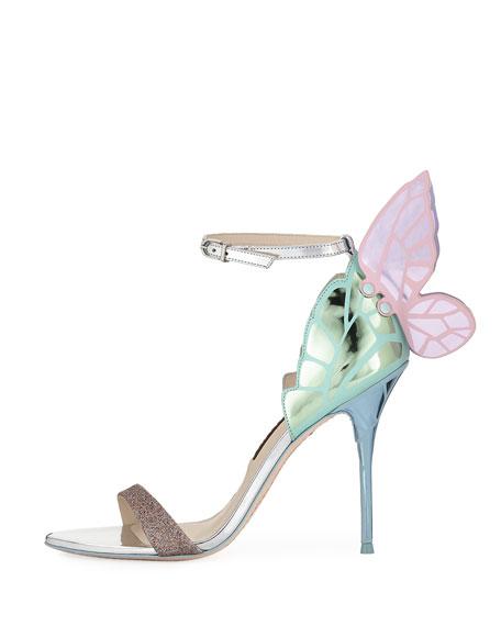 Chiara Butterfly Wing 100mm Sandal