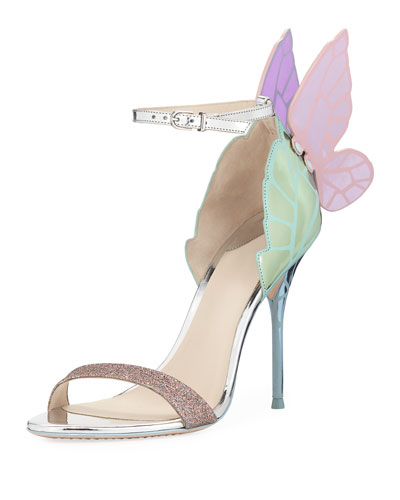 Chiara Butterfly Wing 100mm Sandal