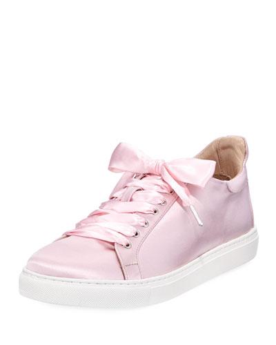 Bibi Butterfly Satin Low-Top Sneaker