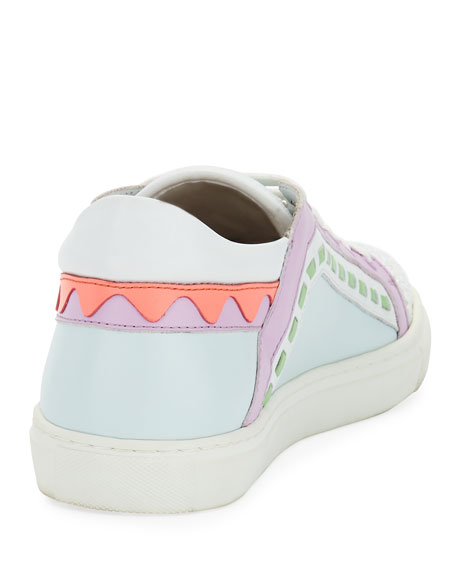 Riko Flat Lace-Up Sneaker