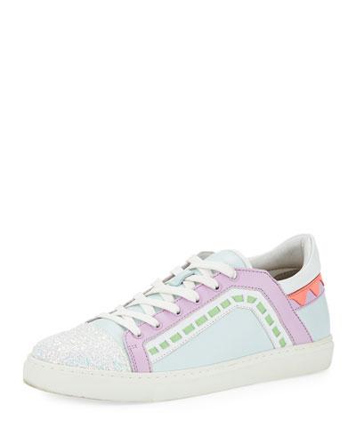 Riko Flat Lace-Up Sneaker