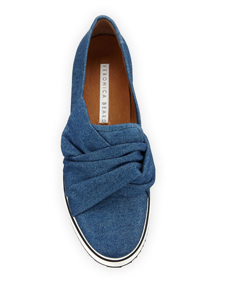 Effie Denim Platform Sneaker