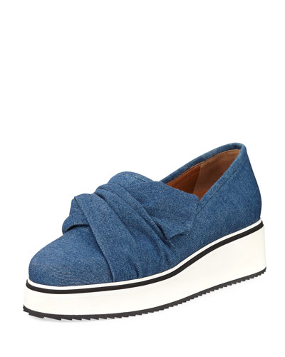 Effie Denim Platform Sneaker