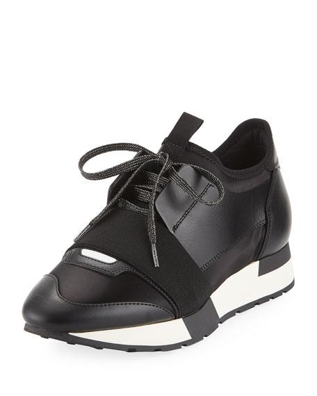 Classic Satin Runner Sneaker