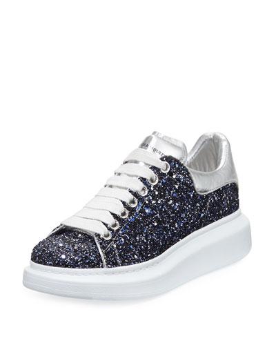 Classic McQueen Glitter Low-Top Sneaker
