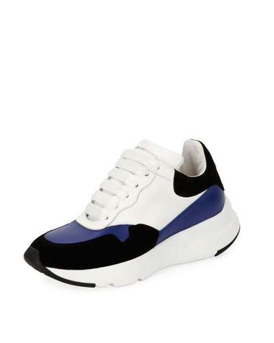 McQueen Leather Runner Sneaker