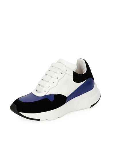 McQueen Leather Runner Sneaker