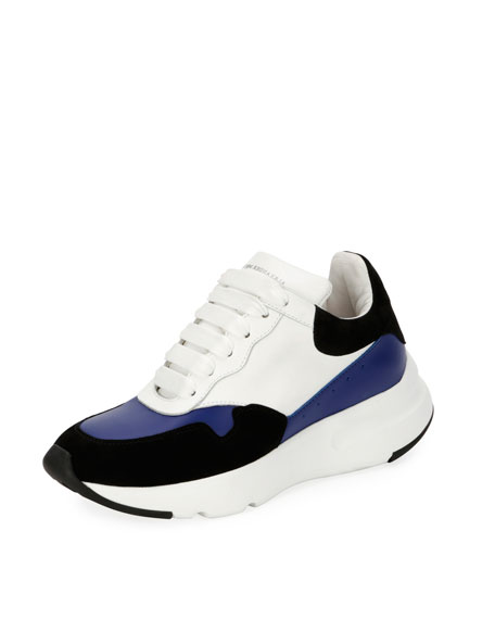 McQueen Leather Runner Sneakers