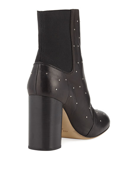 Agnes Studded Leather Boot