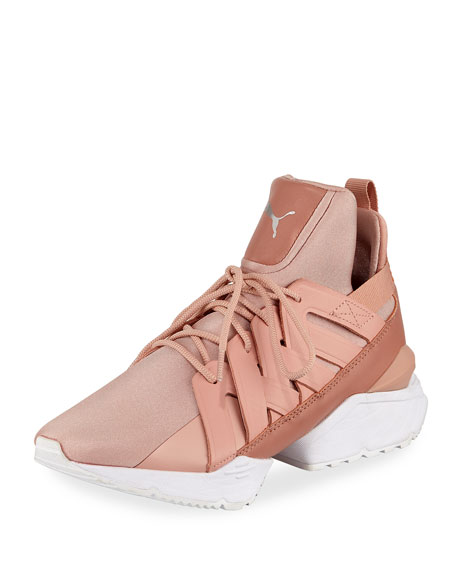 0484c2c5913df9 Puma Muse Echo Satin Sneakers