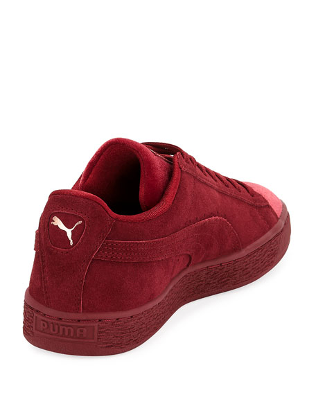 Classic Suede and Velvet Sneaker