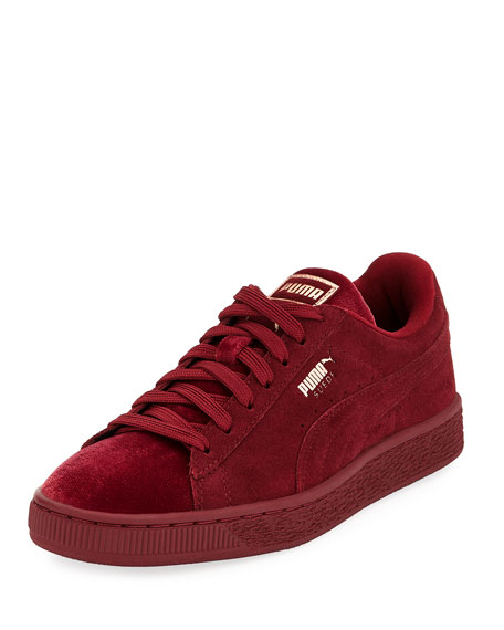 half off 799c2 b3598 Classic Suede and Velvet Sneaker
