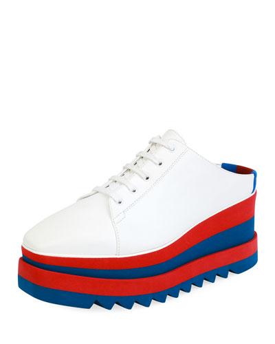 Sneakelyse Platform Sneaker Slide