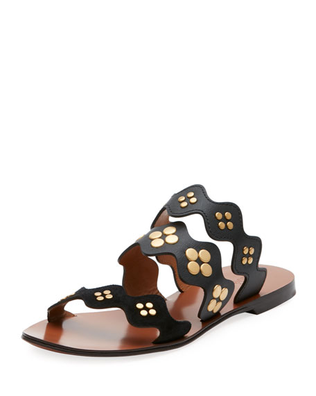 Chloé Lauren studded sandals EVik1jPB