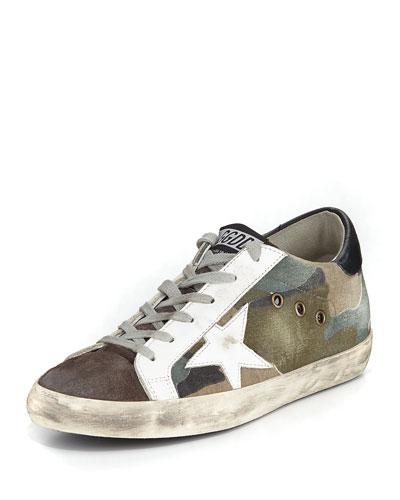 Superstar Camouflage Low-Top Sneaker