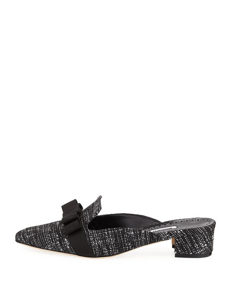 Starato Tweed Loafer Mule