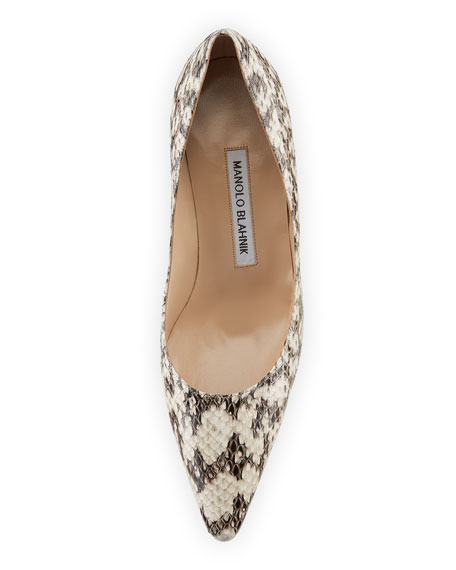 Srila Watersnake Kitten-Heel Pump