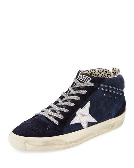 Mid-Top Star Suede Sneaker