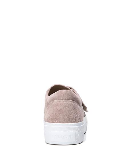 Cage Sport Suede Grip-Strap Sneaker
