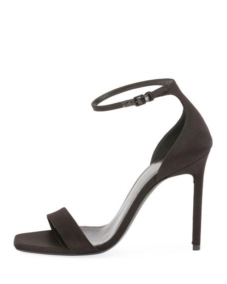 Amber Satin d'Orsay Sandal
