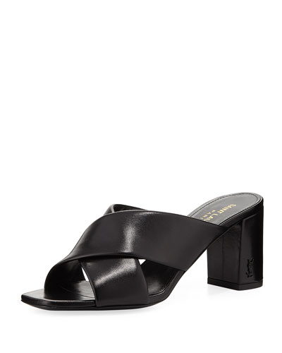 Loulou Leather Mule Sandal