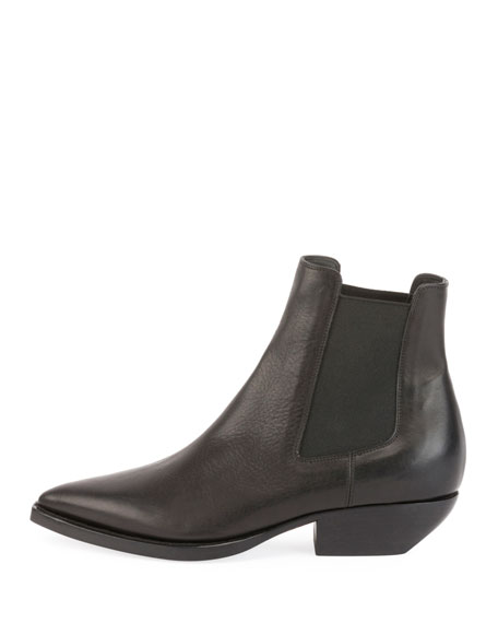 Theo Leather Chelsea Bootie