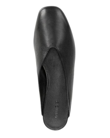 Levins Flat Leather Mule