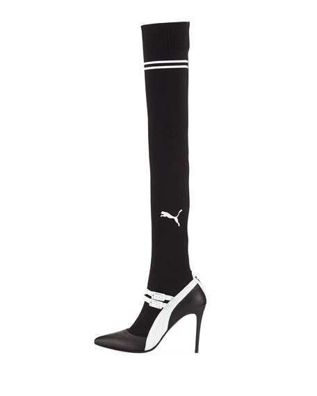 Over-the-Knee Mary Jane Pump